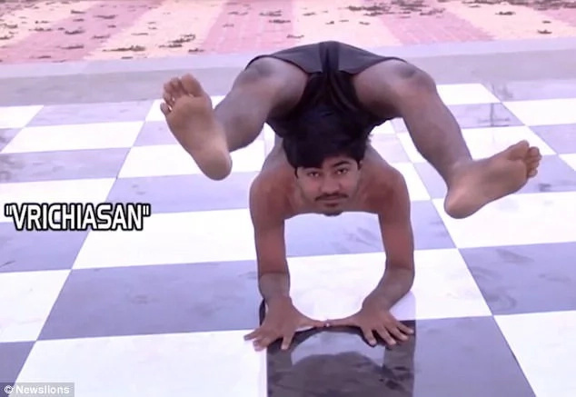 Meet boneless man who can rotate his head at 180 degrees, twist his body into extremely creepy shapes