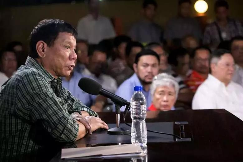 No justice for slain journalist - Duterte