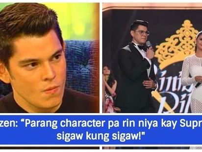 May kaaway ba si Richard? Netizens notice Richard Gutierrez 'shouting' while hosting Bb. Pilipinas, Ruffa explains why