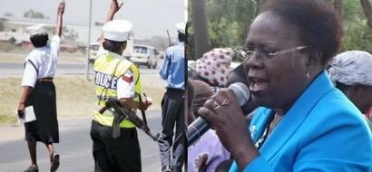 Police told to arrest female Jubilee MP