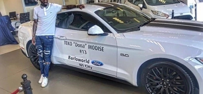 Teko Modise doesn't seem that cursed. He just got a new car worth almost R1m