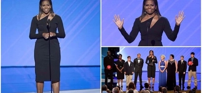 Michelle Obama looks stunning as she honors woman who changed the world with Special Olympics