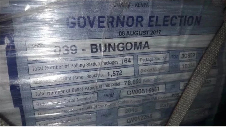 Presidential ballot papers to arrive in the country on Monday