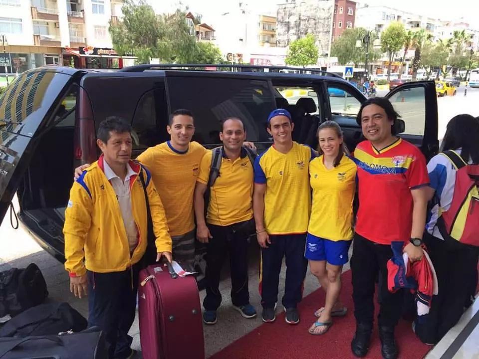 Deportistas colombianos, a salvo en Estambul
