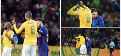 Arendse hustles Messi to secure the most wanted shirt in South Africa