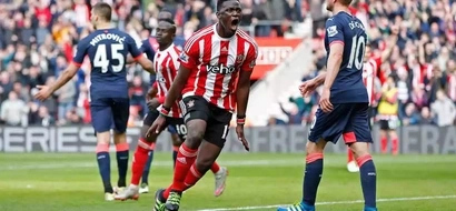Victor Wanyama scores a stunning goal for Saints