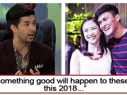 Papansin lang daw? Joross Gamboa made a fearless forecast for Sarah Geronimo and Matteo Guidicelli