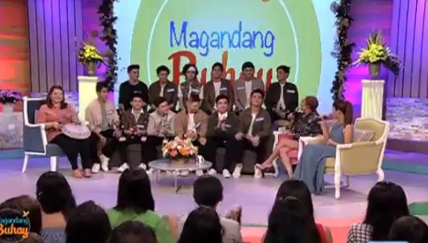 'Pinoy Boyband' Top 12 in 'Magandang Buhay'