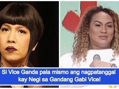 'Sinabi ko sa kanya, ipapatanggal kita sa GGV!' Vice Ganda umaming sya mismo ang nagpasipa kay Negi