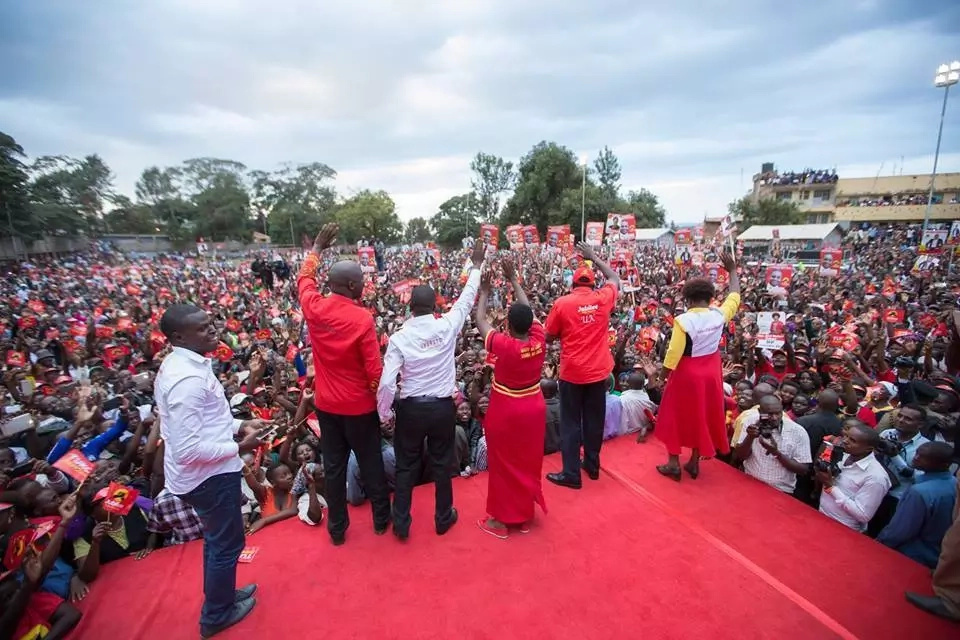 Uhuru Kenyatta rubbishes claims that Jubilee is planning to use KDF to rig in August
