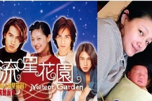 Remember Shan Cai of Meteor Garden? Guess how many kids she has now?