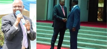 Siku ambayo Moses Kuria alitabiri mkutano kati ya Raila na Uhuru