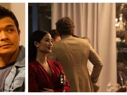 """Jericho Rosales reacted to his """"reunion"""" with ex-girlfriend Heart Evangelista: """"It's not the first time"""""""