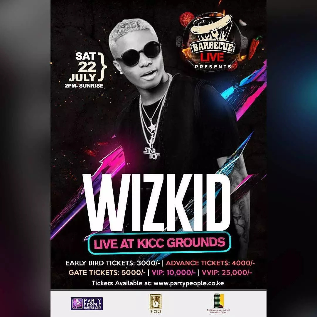 WizKid Takes Naija to London For Album Launch