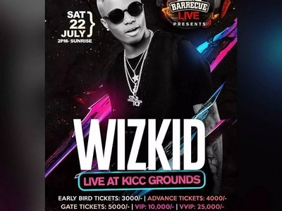 WizKid Takes Naija to London For Album Launch