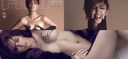 Pantasya ng Bayan Kim Domingo fearlessly bold and daring in FHM magazine cover