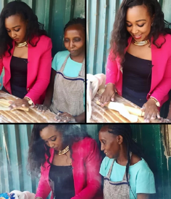If you think Denis Okari left Betty Kyalo because she doesn't know how to cook, be the judge (photos)
