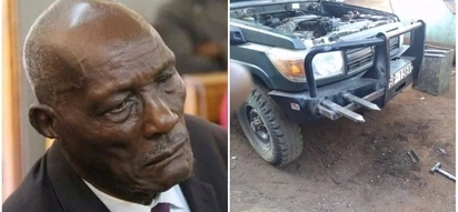 Eldoret business tycoon Jackson Kibor deflates daughter-in-law's tractor in fresh land row