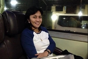 Guess what VP Robredo rode to Naga - what an inspiration!