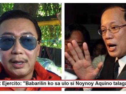 ER Ejercito on former President Noynoy Aquino: 'Pag makita ko siya, babarilin ko siya talaga'