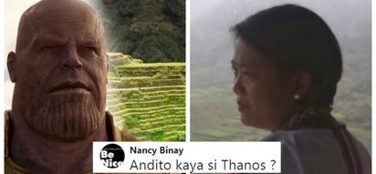 Nancy Binay, hinanap si Thanos habang nasa Banaue Rice Terraces