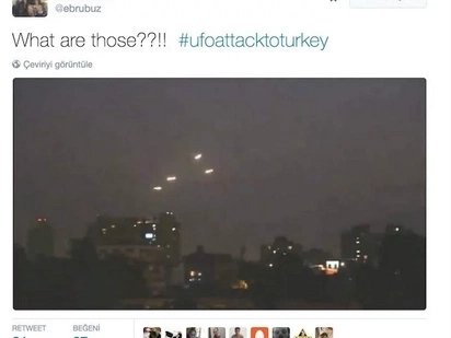 Government Is Trying To Censor This Footage Of Hundreds Of UFOs Over Turkey