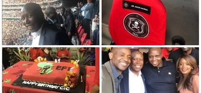 Juju celebrates 37th birthday with 75 000 Orlando Pirates fans