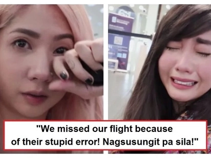 "Alodia Gosiengfiao and her sister Ashley cried hard because of their terrible experience at a Mexican airport: ""It was a nightmare!"""