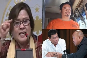 Hala nabisto! De Lima releases txt messages proving Du30 coerces people to witness against her