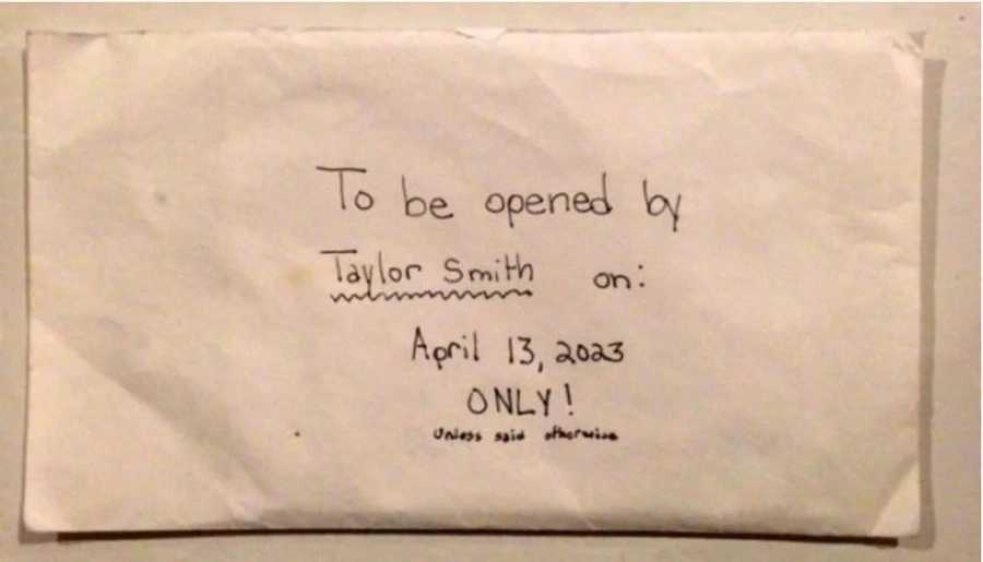 Parents of dead girl find daughter's heartwarming letter
