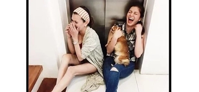 Two Kapamilya angels laugh their hearts out after respective breakups