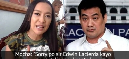 Anak ng Mocha naman! Fiesty Edwin Lacierda slams Mocha Uson for being a lazy researcher