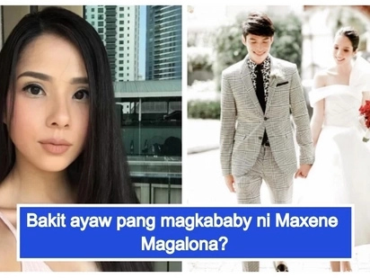 """Hindi naman bahay-bayahan lang 'to"" Maxene Magalona reveals plans on starting a family"
