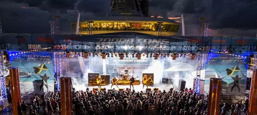 ¿Festival de metal a bordo de un crucero?
