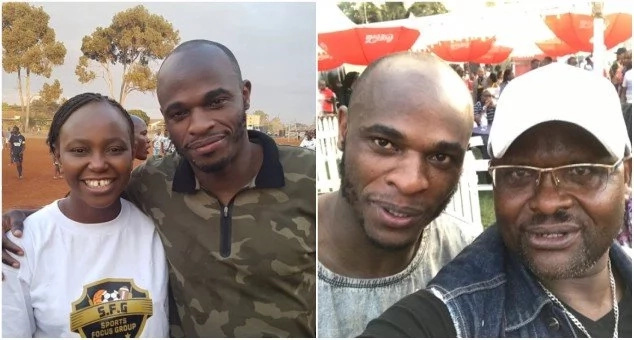 That picture was photo shopped -Oliech finally responds to broke rumours