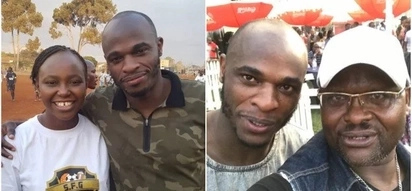 Celebrities jump to the rescue of Denis Oliech after claims he's broke AF