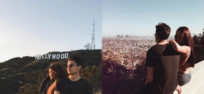 Todo emote! JaDine conquers LA with their highly anticipated photos