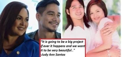 Judy Ann Santos and Piolo Pascual reunion! May movie kaya ang famous love team?