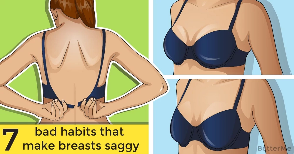 Top 7 everyday habits that are causing breasts to sag