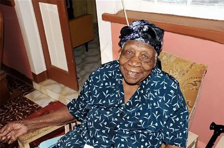 Brown was named world's oldest person in April this year. Photo: Sheena Gayle