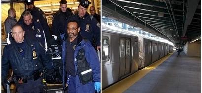 Man, 20, writes death note then decapitates HIMSELF on subway tracks