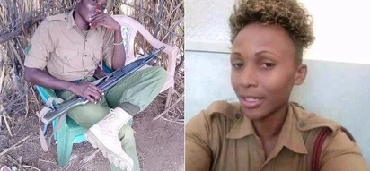 Photos of female police officer shot dead by her husband in deadly Siaya love triangle