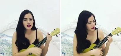 Bela Padilla gives us good vibes with her amazing ukulele performance
