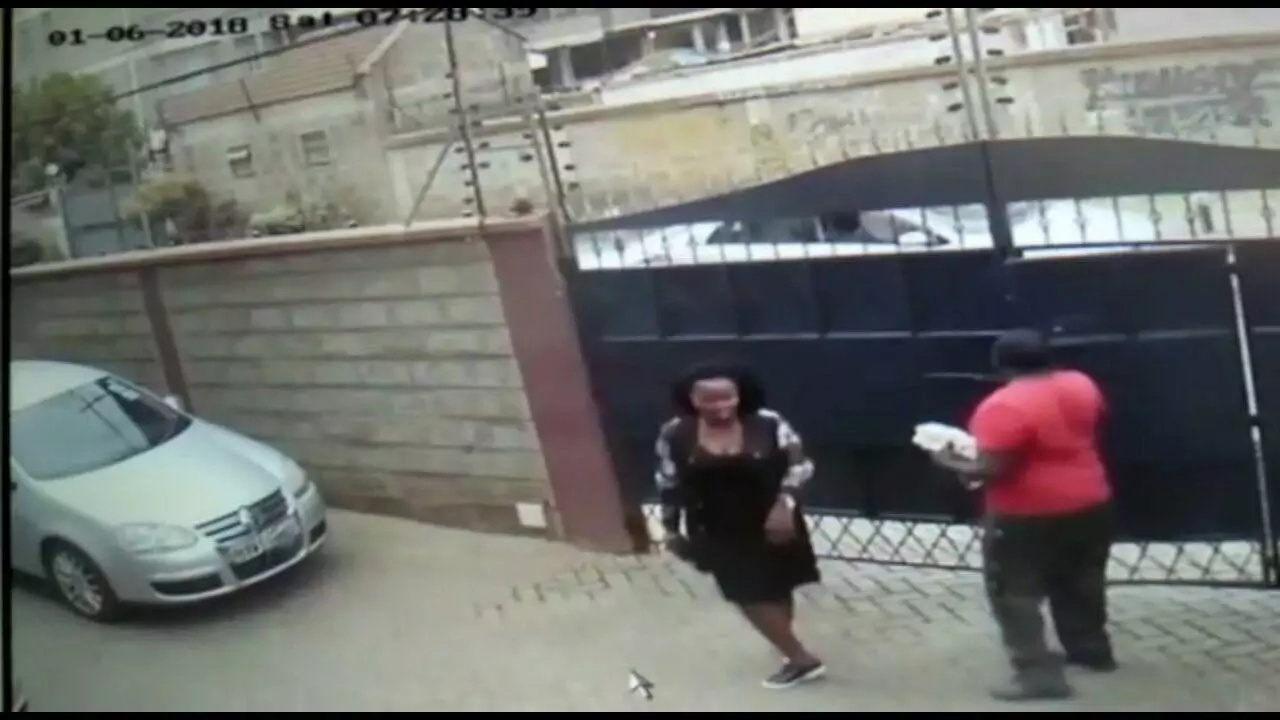 If you know this lady kindly inform the police