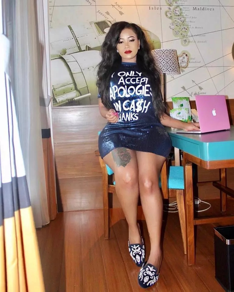 I do not get monthly periods- Vera Sidika