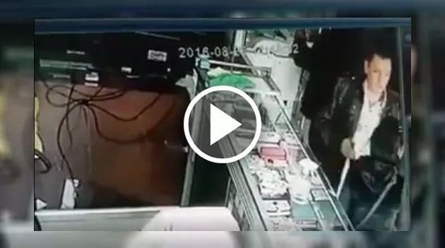 Este ladrón robó con la ayuda de un artefacto muy extraño
