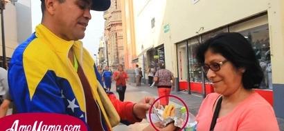 Tuvo que abandonar su país para salir adelante y ahora vende arepas en Perú. Nadie puede creer que este hombre sea alguien tan importante