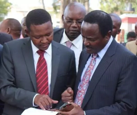 Kalonzo Musyoka thouroughly embarrased in his presidential bid