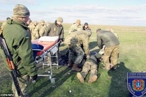 Ukranian Soldier Suffers HORRIFIC Hand Injury From Grenade During Training - GRAPHIC
