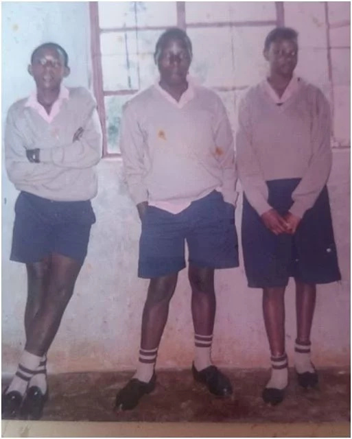 Flashback Friday: See a photo of Kanze Dena in class eight